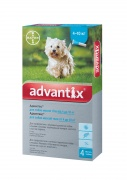 Bayer Advantix краплі інсектоакарицидні для собак, 1 піпетка (4-10 кг)