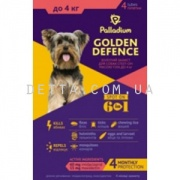 Palladium Golden Defence Капли на холку для собак (до 4 кг)