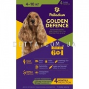 Palladium Golden Defence Капли на холку для собак (4-10 кг)
