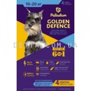 Palladium Golden Defence Капли на холку для собак (10-20 кг)