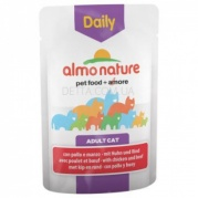 ALMO NATURE Daily Menu Cat Консерва для котів, 70 г (з куркою і яловичиною)