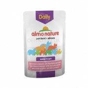 ALMO NATURE Daily Menu Cat Консерва для котів, 70 г (з тунцем і лососем)