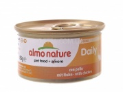 ALMO NATURE Daily Menu Cat Консерва для котів мус, 85 г (з куркою)