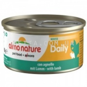 ALMO NATURE Daily Menu Cat Консерва для котів мус, 85 г (з ягням)