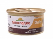 ALMO NATURE Daily Menu Cat Консерва для котів мус, 85 г (з качкою)