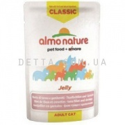 ALMO NATURE Classic Nature Jelly Pouch Cat консерва  для котів, 55 г (з тунцем і креветками)
