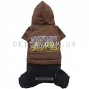 "Doggy Dolly ""First class brown"" Костюм, коричневый (M )"