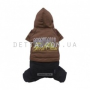 "Doggy Dolly ""First class brown"" Костюм, коричневый (L )"